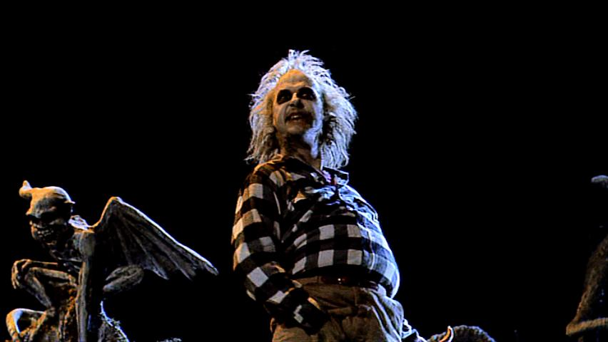 Beetlejuice 17 - Beetlejuice grabs his crotch